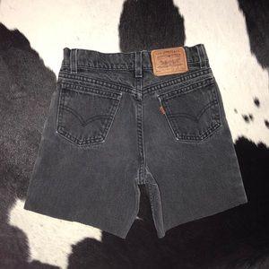 Levi's Vintage 1970's orange tab high rise shorts